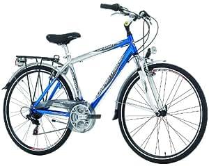 "Bicicleta Deportiva Hibrida Trekking Urbana de 28"" 18 vel Cinzia Aluminio 2645"