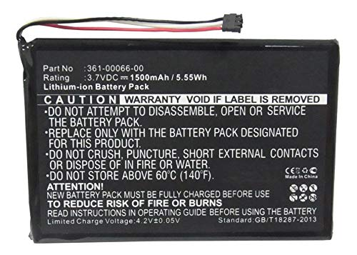 Synergy Digital Battery Compatible with Garmin 361-00066-00 Replacement Battery (Li-Ion, 3.7V, 1500 mAh) - Repl. Garmin 361-00066-00 Battery by Synergy Digital (Image #1)