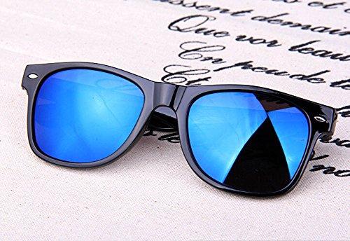 Gafas polarizadas Metal Gafas Mujer Sol Marco Resina Gafas Sol de y Azul BIGBOBA 1pcs de Azul Moda de Hombre Sol de 48×55mm 78ZXKTq