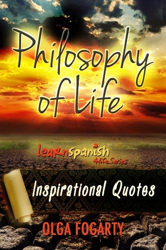 Amazoncom Philosophy Of Life Inspirational Quotes Learn Spanish