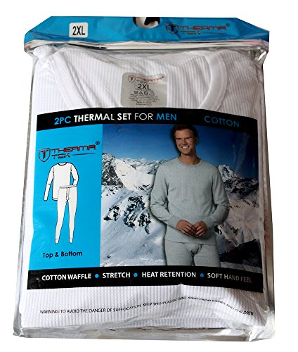 therma-tek-formerly-comfort-fit-winter-mens-thermal-100-cotton-top-bottom-2-pcs-set-white-2xl