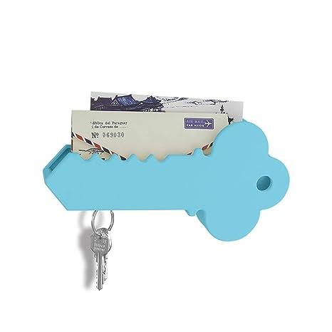 Amazon.com: iphyhe Blanco Magnético Key Holder correo caja ...