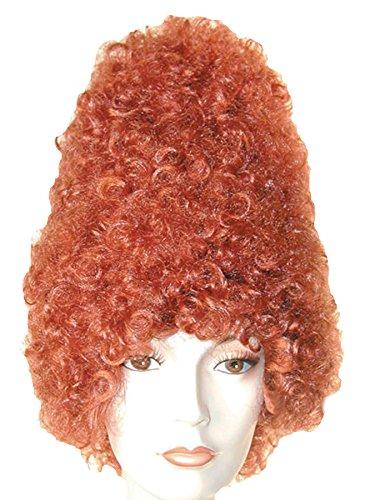 ADULT CURLY BEEHIVE COSTUME WIG (auburn) (Beehive Costume Wig)