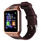 Padgene Bluetooth Smart Watch DZ09 Smartwatch Phone Watch Support SIM TF Card with Camera for Android IOS iPhone Samsung LG Phones