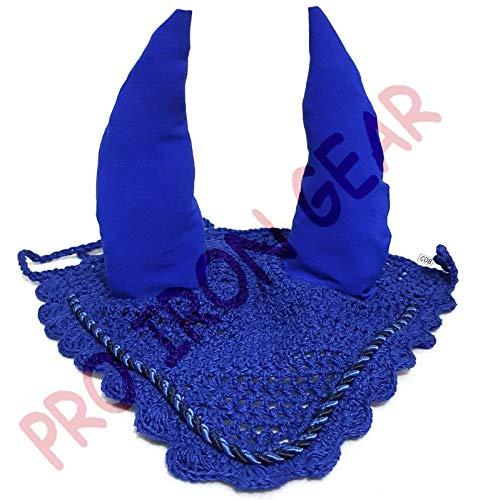 PRO IRON GEAR Horse Ear Bonnet/Net/Hat/Hood/Mask Fly Veil Full/Cob (Full)