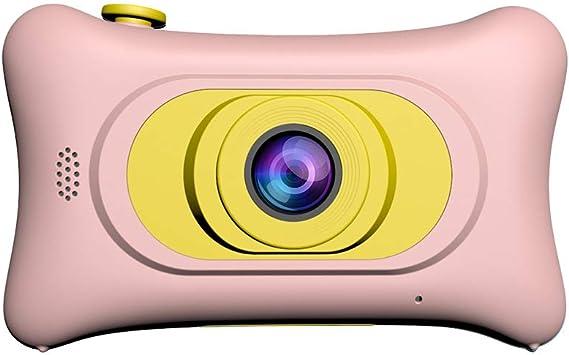 HARLT Mini Cámara Smart Camera para Niños, Cámara para Niños 8.0MP Recargable Digital Frontal Y Trasera Selfie Camera Videocámara para Niños, Juguetes De Regalo para Niños Y Niñas,Pink: Amazon.es: Electrónica