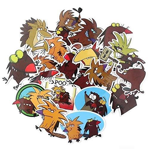 Mainstreet247 Angry Beavers Cartoon Themed Set of