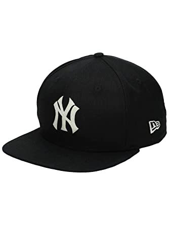 996dfa21146 New Era Men Caps Snapback Cap Linen Felt NY Yankees Cooperstown   Amazon.co.uk  Clothing