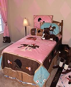 Carstens English Girls Bedding Set, Twin