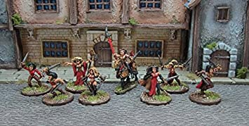 Blighthaven - War Vixens (8) (15mm scale fantasy miniatures) (Ral
