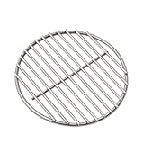 "BBQ High Heat Stainless Steel Charcoal Fire Grate Fits For Large Big Green Egg Fire Grate and Kamado Joe Grill Parts Charcoal Grate Replacement Accessories(9"") For Sale"