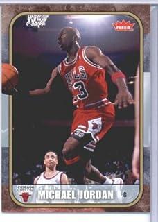08 2007 Fleer Tribute Basketball Michael Jordan carte#22 État dans une usine