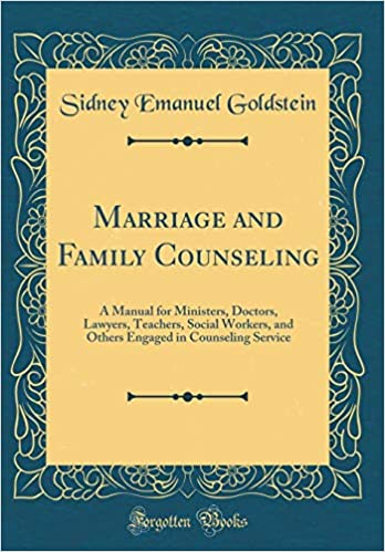 Buy Marriage and Family Counseling: A Manual for Ministers