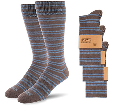 Mr. Davis Moisture Wicking Performance Dress Sock 3 Pack
