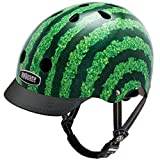 Nutcase – Patterned Street Bike Helmet for Adults, Watermelon, Medium For Sale