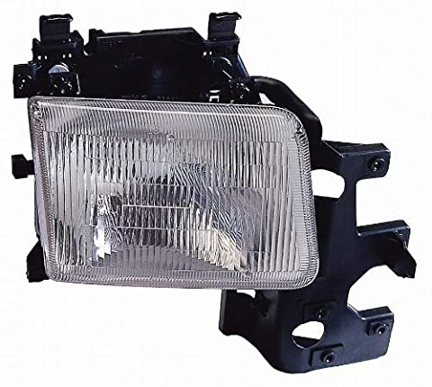 Depo 333-1136L-AS Dodge Van Driver Side Replacement Headlight Assembly - Dodge Van Headlight Assembly