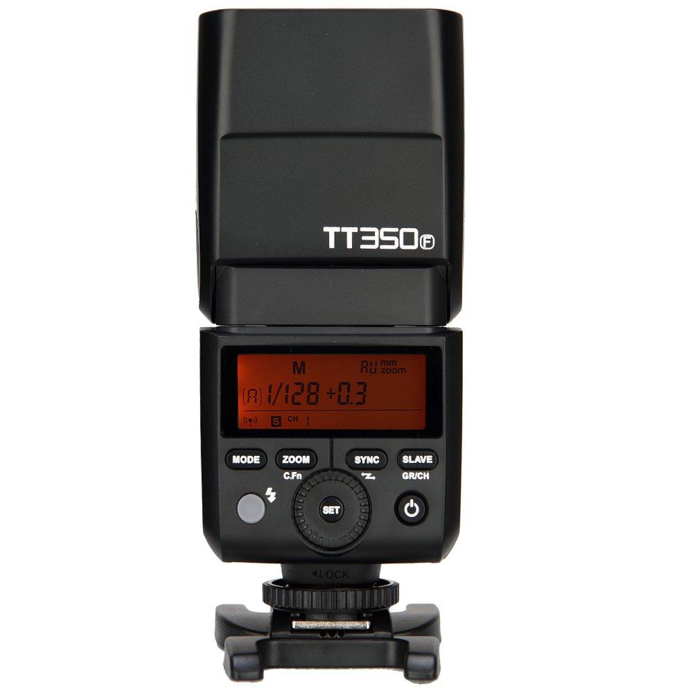 GODOX TT350F Mini TTL Flash 2.4G HSS 1/8000s HSS GN36 Camera Flash Speedlite for Fuji Digital Camera