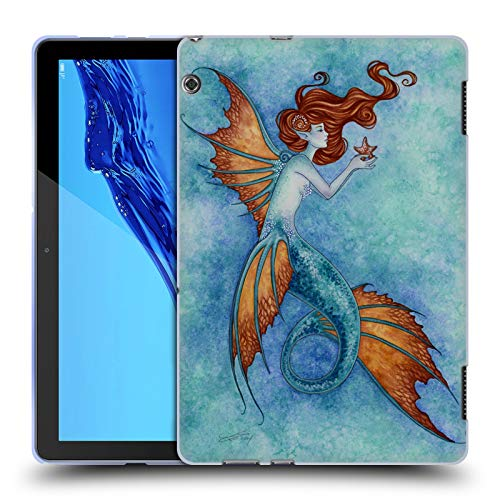 Official Amy Brown Wish Upon A Star Sea Soft Gel Case for Huawei MediaPad T5 ()