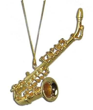 Amazon.com: Miniature Saxophone Christmas Ornament 3.25