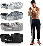Long Resistance Bands, WeluvFit Workout Bands Resistance for Women and Men, Fitness Loop Booty Stretch Exercis