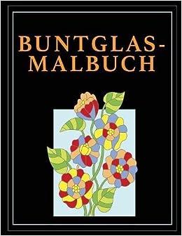 Buntglas-Malbuch