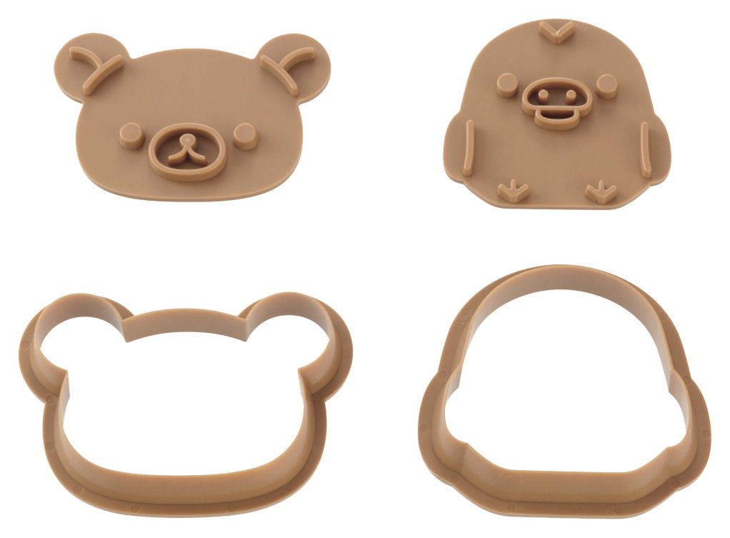 Cookie punching mold set Rilakkuma & KiiroitoriDN 0201 by Kai (Image #1)