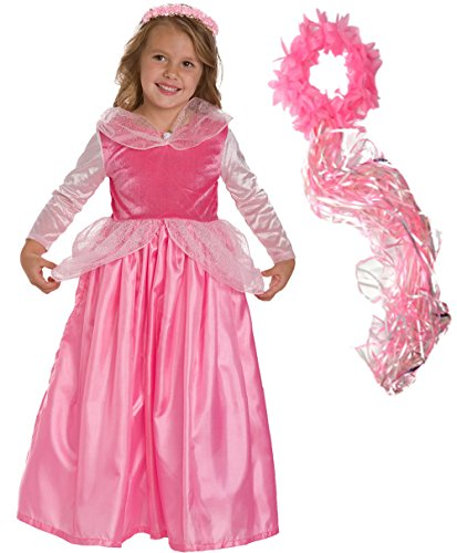 Girls Disney Inspired Sleeping Beauty Costume Age 1-3 (small)