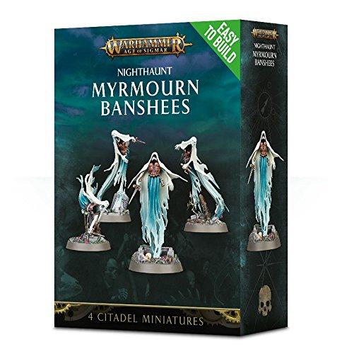 Citadel Easy-To-Build Nighthaunt Myrmourn Banshees Warhammer Age of Sigmar by Citadel
