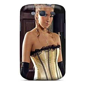 Excellent Design Corset Sexy Babe Phone Case For Galaxy S3 Premium Tpu Case