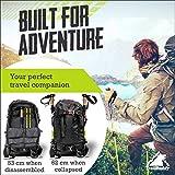 TrailBuddy Trekking Poles - 2-pc Pack Adjustable