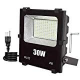 30W LED Outdoor Flood Lights,Super Bright Security LED Flood Light,150W Halogen Bulb Equivalent 6000K Daylight 110V-240V
