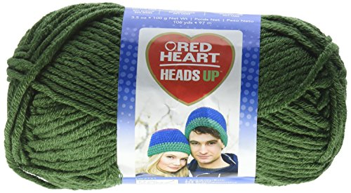 (Red Heart Heads Up Yarn, Dill )