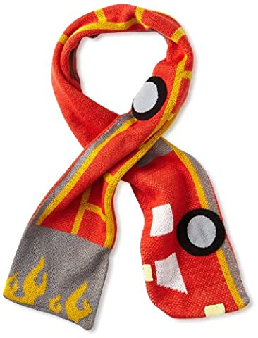 Kidorable Little Boys' Fireman Scarf, Red, One