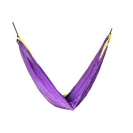 Slack Jack Camping SJ-CAMPH-M-LiVi Fabric Hammock (Multicolor)