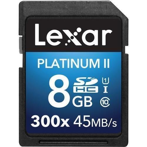 Lexar Media Lexar LSD8GBBBNL300 Platinum II 8 GB Secure D...