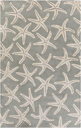 8-x-11-Starfish-Haven-Slate-Gray-and-Beige-Hand-Tufted-Wool-Area-Throw-Rug