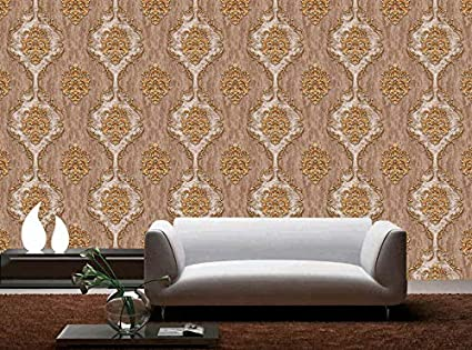 Buy Glowvia Imported Wallpaper for Wall, Modern Embossed Wallpaper for Home/Office/Living Room/Café-57 Sqft Online at Low Prices in India - Amazon.in