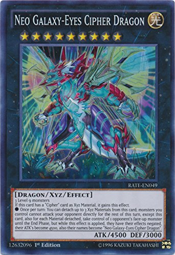 Neo Galaxy-Eyes Cipher Dragon - RATE-EN049 - Super Rare - 1st Edition