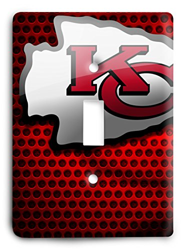 NFL Come Hard Chiefs Light Switch Cover
