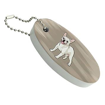 BullDog francés sonriendo mascota perro flotante de espuma ...