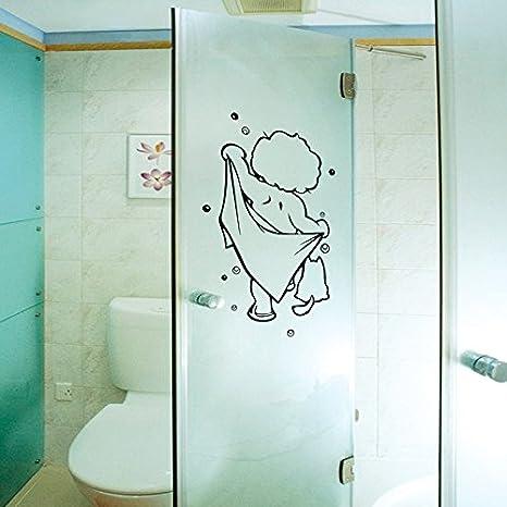 Neue Baby Bad Bad Dekorative Aufkleber Schlafzimmer Badezimmer Wand Glastur Kreative Klebrige Wandaufkleber Baby Baden 137 Gross Amazon De Baumarkt