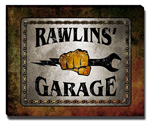 ZuWEE Rawlins Family Garage Gallery Wrapped Canvas Print