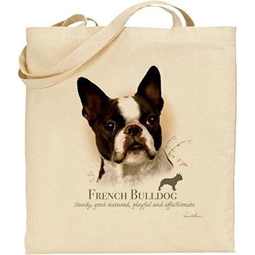 Howard Robinson Bulldog francese cotone Borsa