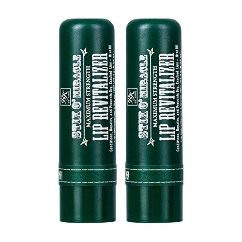 Ruby Kisses Stix O' Miracle Maximum Strength Lip Revitalizer RBX01 (2 Pack)