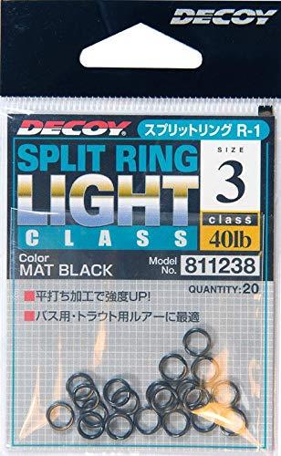 1245 Decoy R-3 Split Rings Medium Class Size 4