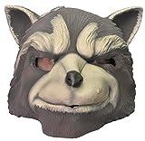 Rubie's Men's Guardians of the Galaxy Rocket Raccoon Costume, GOTG, Overhead Mask