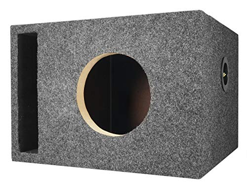 Rockville RSV65 Single 6.5″ Vented MDF Subwoofer Box Sub Enclosure 0.89 cu ft.
