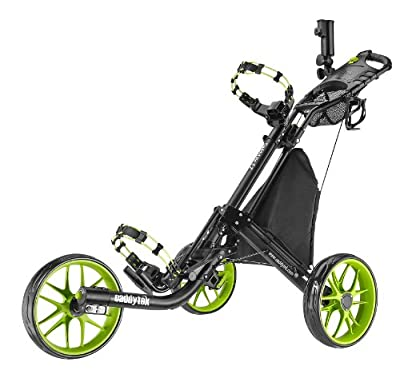 CaddyTek EZ-Fold 3 Wheel Golf Push Carts