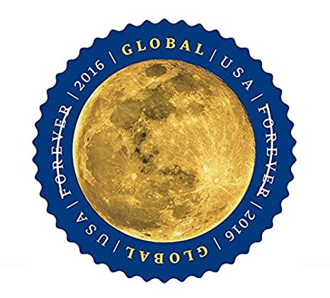 Amazon Global Forever International US Postage Stamps Sheet