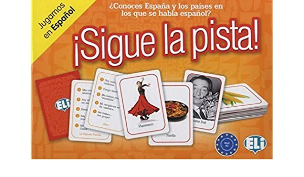ELI Language Games: Sigue la pista by Olivier Joy 2014-10-21: Amazon.es: Olivier Joy: Libros